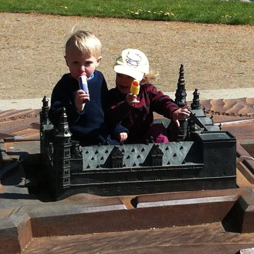 Christian og Eva på Kronborg Slot 2015
