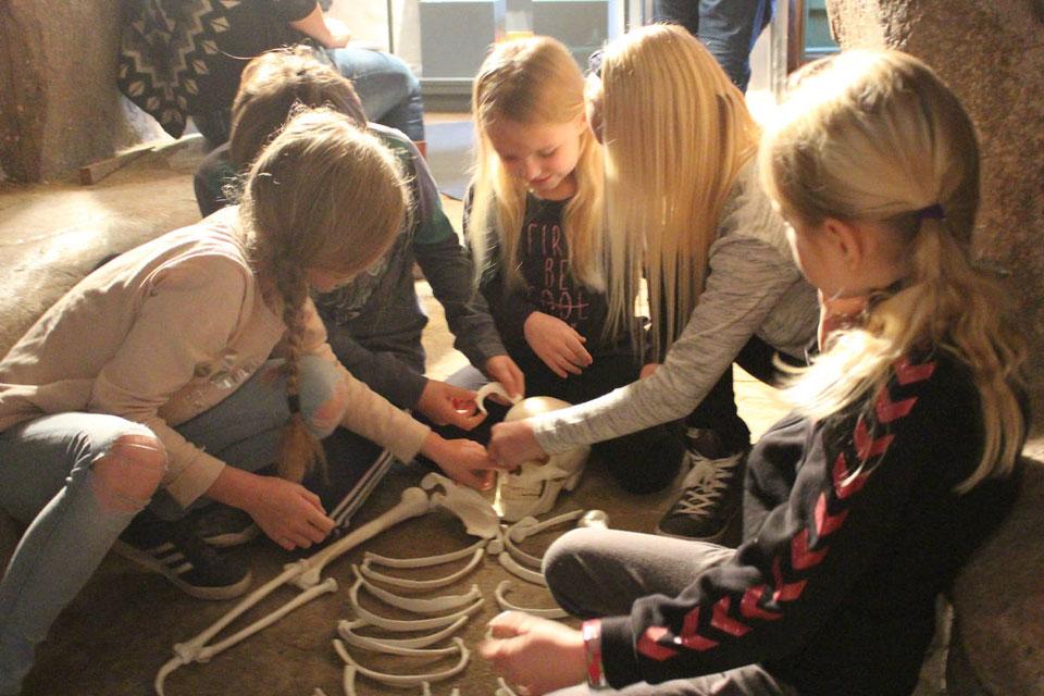 Børn på Museet i Randers © Østjyllands Museum