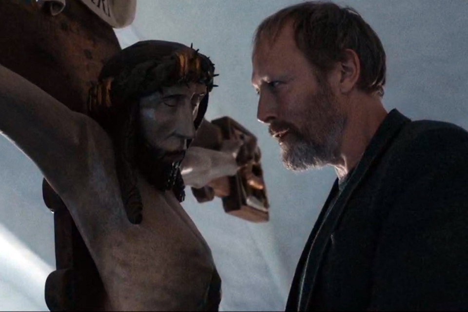 """Kristus og Johannes i """"Herrens Veje"""" © DR"""