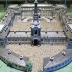 Model af Hørsholm Slot. Kilde: Wikipedia