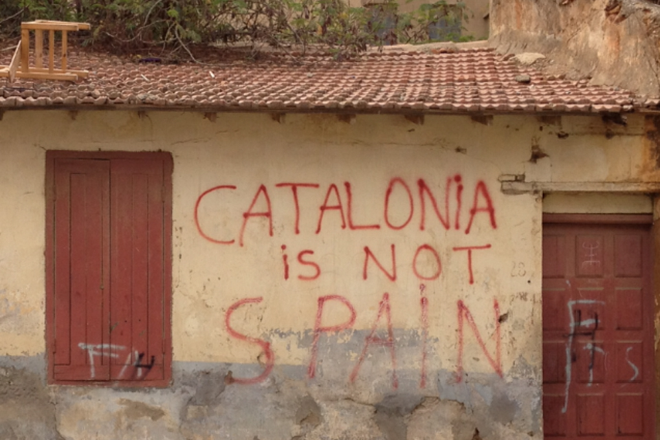 Catalonia er ikke Spanien kilde: wikipedia/dzlinker