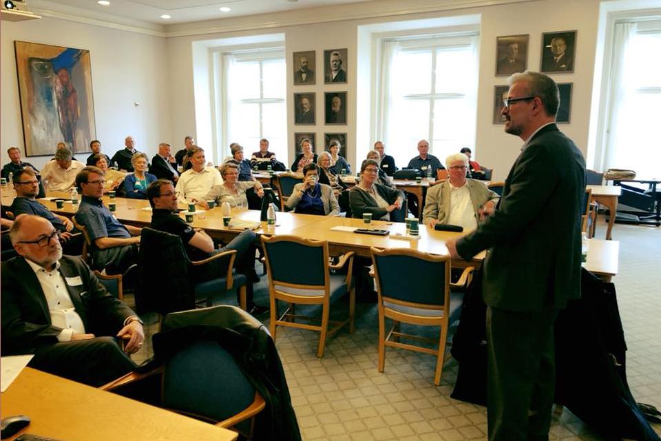 Rane Willerslev til debatkredsmøde på Christiansborg @ Mette Abildgaard