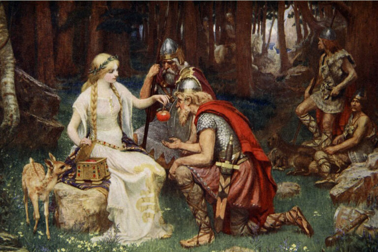 Idun and the Apples by James Doyle. Source. Wikipedia
