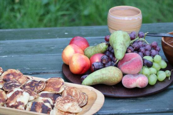 Æblefritter. Source: Postej & stew