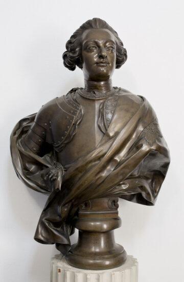 Jacques‑François‑Joseph Saly Portræt af Frederik V (1723‑1766). Ca. 1766 © Akademirådet (Gengivet med venlig tilladelse)