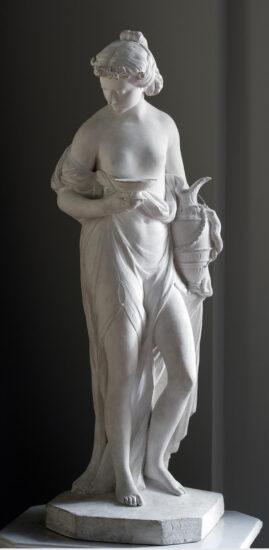 Hebe. Af Jacques-Francois Saly. Hermitage, St. Petersburg