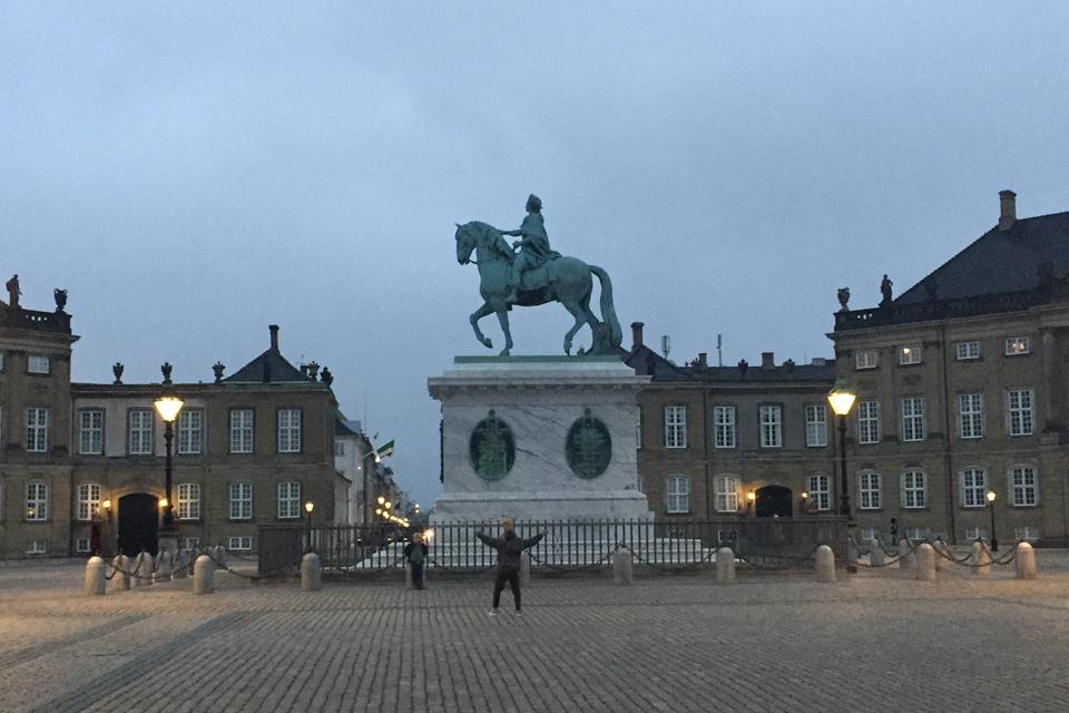 Rytterstatuen af Jacques.François Joseph Saly. København 2020 © Schousboe