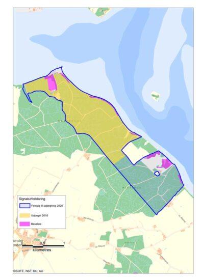 Plan for urørt skov 2021 © Naturstyrelsen