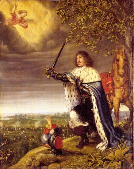 Slaget ved Nyborg og Frederik III. Af Wolfgang Heimbach. Kilde: Wikipedia/Rosenborg (OD)