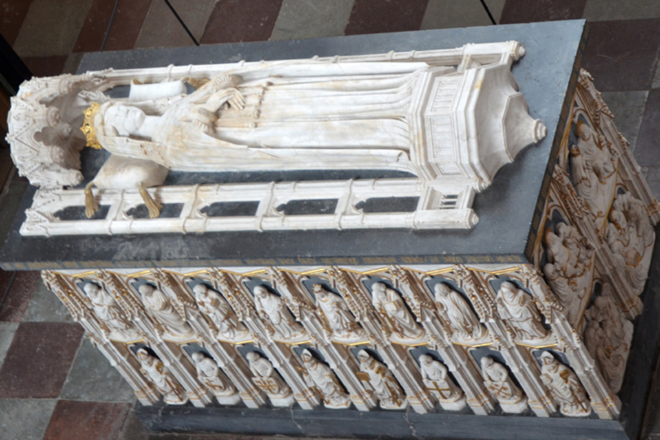 Margrete I tomb Schousboe