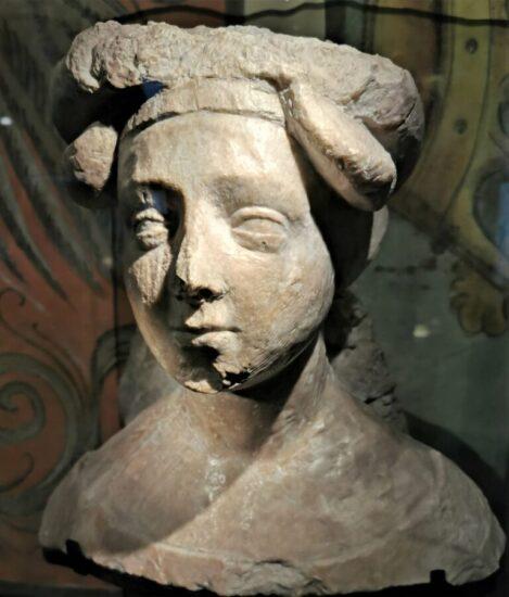 Forarbejde til gravmælet i Roskilde af Lübeck kunstneren, Johannes Junge © St. Anne Museum, Lübeck