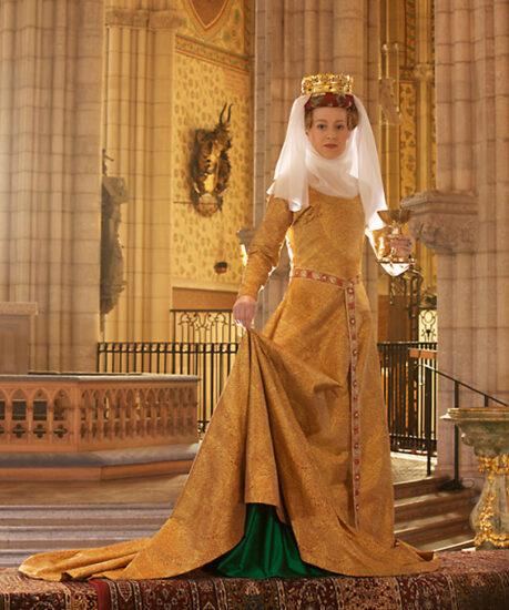Reconstructed Golden Dress @ Laila Duran